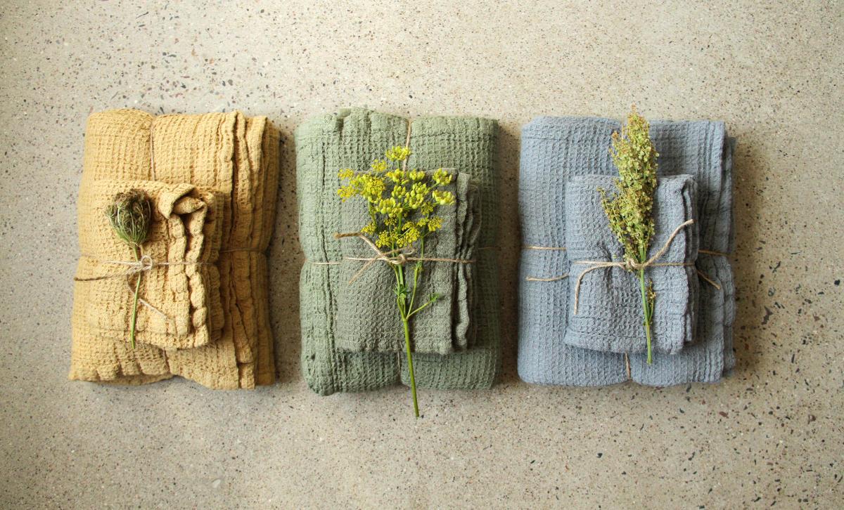 Ekologiska handdukar
