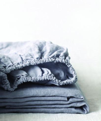 dra-på-lakan linne light grey