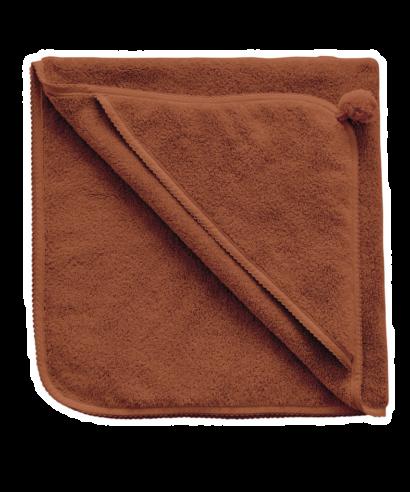 handduk med luva cinnamon