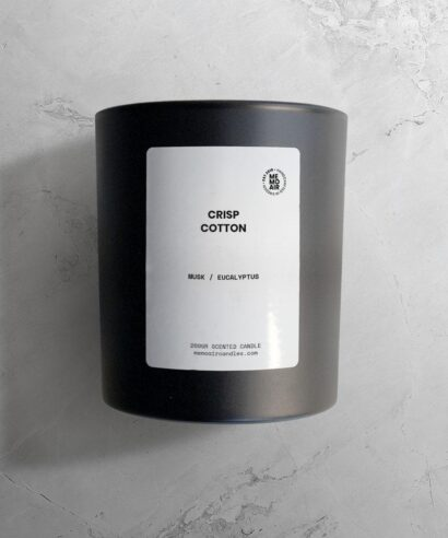 crisp cotton doftljus